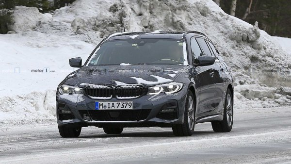 В Швеции тестируется новый универсал BMW 3 Series Touring